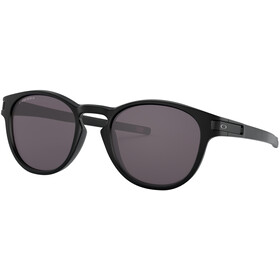 Oakley Latch Sonnenbrille Damen matte black/prizm grey